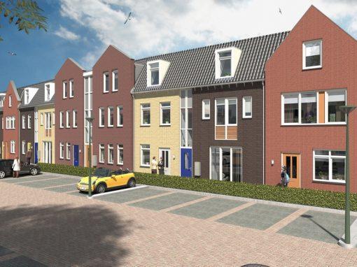 Nieuwbouw woningen en appartementen Centrumplan Leersum (architectuur)