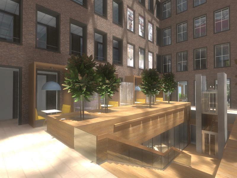 Interieurarchitectuur - Essent Den Bosch