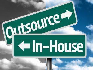 in house en outsourcing
