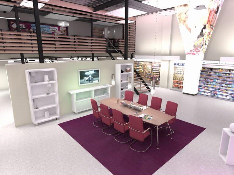 Design concept centre en het nieuwe winkelen Didden 's-Hertogenbosch