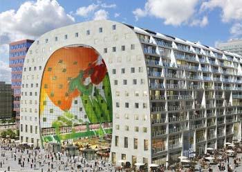 Nieuwbouw appartementen Markthal Rotterdam