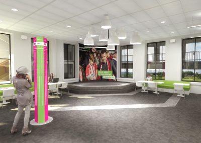 Herinrichting vloeren diverse verdiepingen Essent locatie 's-Hertogenbosch