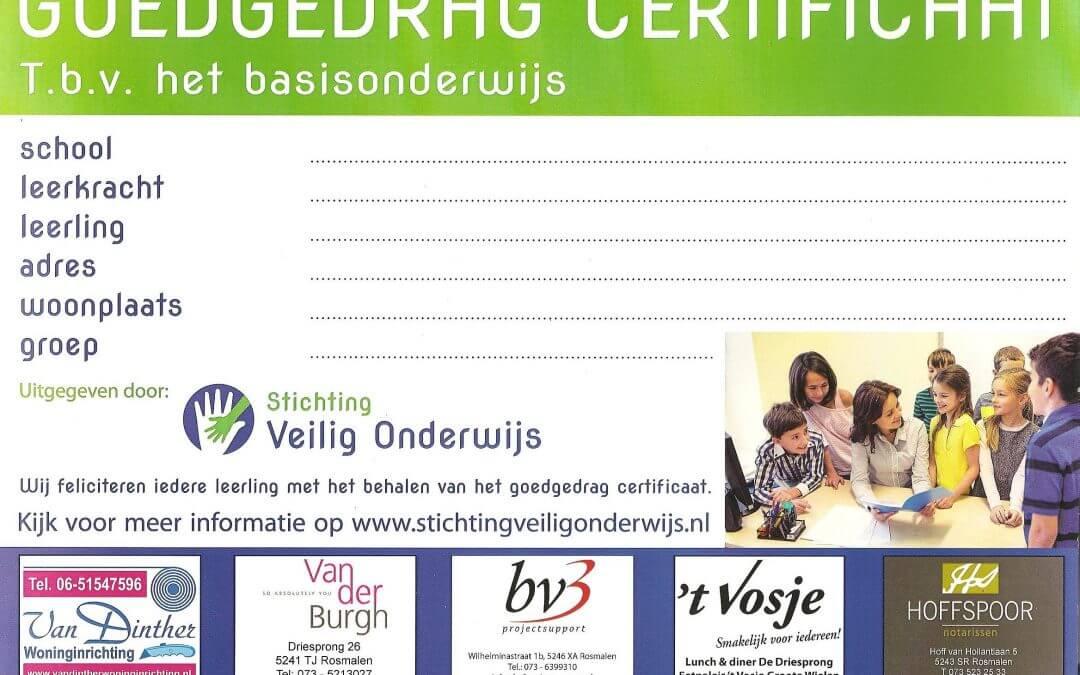 bv3 ondersteunt Stichting Veilig Onderwijs