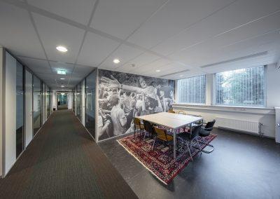 Renovatie kantoorgebouw Simon Building Tilburg University