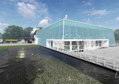Restyling Waterpaviljoen Bio Trade Centre Venlo