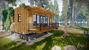 180211 & 180212-6369 Vakantiepark Zevenbergen_duurzaam ontwerp E-W-B 6 recreatiebungalows